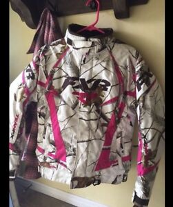 Woman's winter semi-floater FXR snowmobile jacket