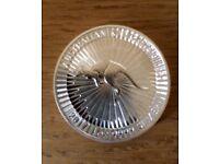 1oz .999 Silver Coin