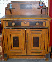 Antique Pine Commode / Cupboard