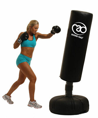 Boxing-Mad Free Standing Flexible Punch Bag FreeStanding Fitness Home Work Out