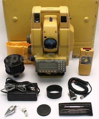 Topcon Gpt-8003a 3 Robotic Total Station Solo Surveying System 8003a Gpt 8000a