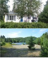 Chalet à louer - Lac des Cygnes à Chertsey (Vacances en famille)