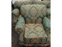 Immaculate 2 seater and chair free delivery