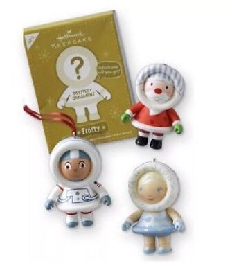 Santa Fairy Ornament - Hallmark Ornament 2012 FROSTY MYSTERY ORNAMENT Set of 3 Santa Fairy Astronaut