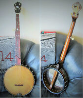 Old Style Clawhammer banjo