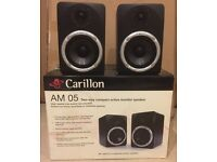 Carillon AM 05 Active Monitor Speakers
