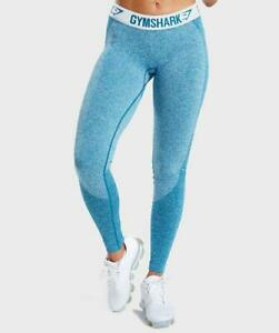52acf3ce5 Gymshark Flex Leggings - Deep Teal Ice Blue - XS - NEW UNUSED
