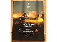 Colector's item: Official Program UEFA Europa League Final '16-'17