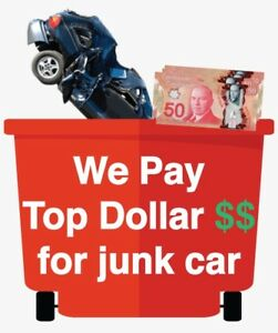 CALL US WE PAY upto $1,100 CASH FOR JUNK CARS ☎: 403-671-3665