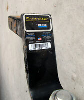 """REESE TOWPOWER  BALL MOUNT 5-1/4"""" DROP USED"""