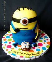 Custom Cakes, treats, 3 D toppers and more!