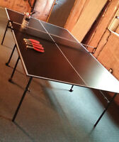 Table tennis table + racquets MOVING SALE