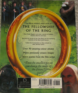 Lord of the Rings The Fellowship of the Ring Photo Guide Book London Ontario image 2