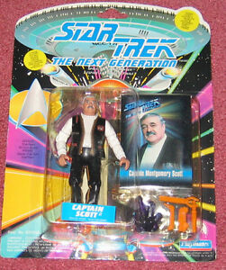Captain Scott figure NEW in package - Star Trek: TNG