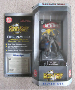 Comic Book Champions Silver Age Joker Pewter Figure
