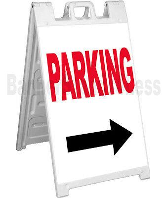 Signicade A-frame Sign Sidewalk Sandwich Pavement Guest Event Sign - Parking