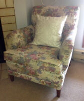 Floral Lounging Chair