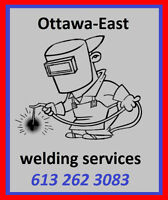 Ottawa East welding services
