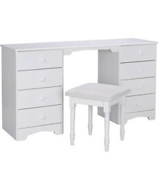 Nordic White Dressing Table