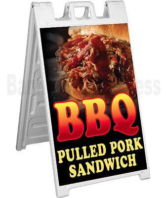 Signicade A-frame Sign Sidewalk Pavement Food Sign - Bbq Pulled Pork Sandwich