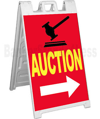 Signicade A-frame Sign Sidewalk Sandwich Store Pavement Street Sign - Auction Rb