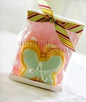 Clear Cello Favor Bags - Gusseted (Set of 10)