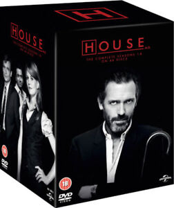 House MD Complete Seasons 1 - 8 Complete Box Set 46 Disc Dvd New/Sealed