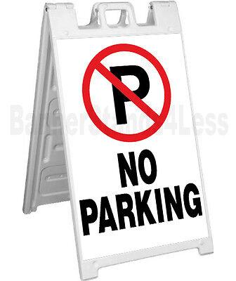 Signicade A-frame Sign Sidewalk Sandwich Pavement Event Sign - No Parking Wb