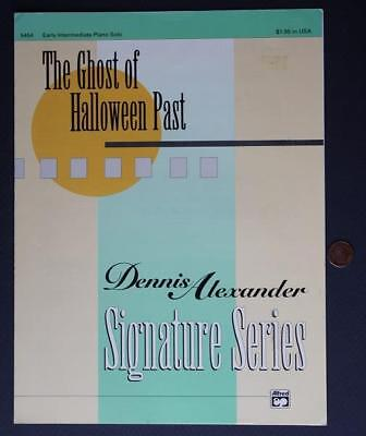 Ghost Of Halloween Past (1993 The Ghost of Halloween Past Dennis Alexander Signature Series sheet)