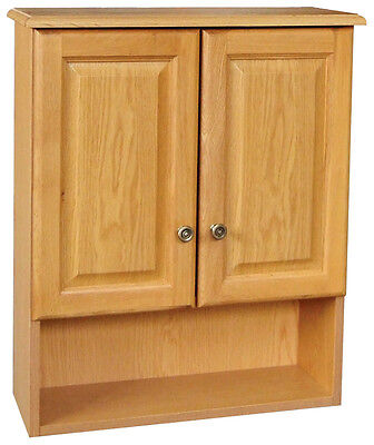 (Bathroom Vanity Wall Cabinet Above Toilet Over-the-John Oak New *Fast Delivery*)