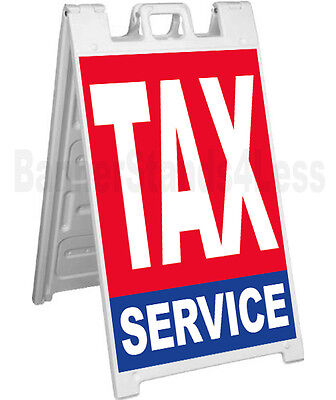 Signicade A-frame Sign Sidewalk Pavement Sign - Tax Service Rb