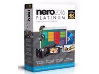 Nero 2016 Platinum GENUINE FREE RECORDED DELIVERY