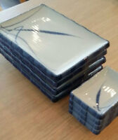 REDUCED!! 4 sets of Japanese sushi plate and soy sauce dish
