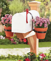 DOUBLE MAILBOX FLOWER PLANTER