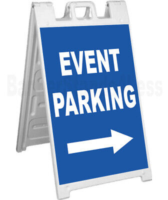 Event Parking - Signicade A-frame Sign Sidewalk Sandwich Pavement Sign Bb
