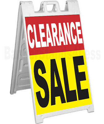 Clearance Sale - Signicade A-frame Sign Sidewalk Sandwich Pavement Sign Ryb