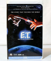 E.T. ON VHS - EXTRA TERRESTRIAL