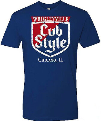 Chicago Cubs World Series Win Cub Style T Shirt Free Shipping  S M L Xl 2X 3X