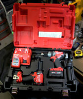 Milwaukee M18 FUEL Hammer Drill and Impact Driver XC 4.0 kit