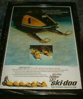 Vintage Ski-Doo pics, 10 diff. - mounted & ready to display