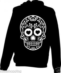 felpa-cappuccio-cotone-nera-bianca-con-disegno-teschio-messicano-love-cuore