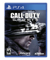 PS4 CALL OF DUTY GHOSTS - ADULT OWNED - MINT