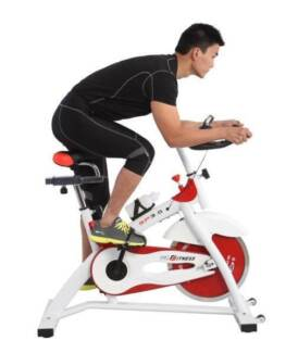 REAL 18KG COMMERCIAL SPIN FLYWHEEL EXERCISE BIKE HOME FITNESS GYM Smithfield Parramatta Area Preview