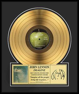 JOHN LENNON - IMAGINE GOLD LP GOLDENE SCHALLPLATTE