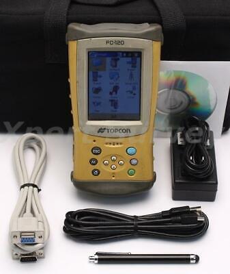 Topcon Fc-120 Field Controller Data Collector W Topsurv V7.1 Fc120