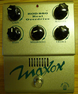 Maxon - ROD 880 Real Overdrive (Made in Japan)
