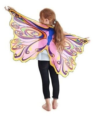 RAINBOW FAIRY WINGS WITH GLITTER - Child's Costume - Douglas Toys - NEW - #50585 - Rainbow Fairy Costumes