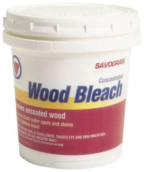 SAVOGRAN 10501 Wood Bleach 12 oz Quickly And Easily Used
