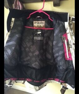Woman's winter semi-floater FXR snowmobile jacket Kawartha Lakes Peterborough Area image 3