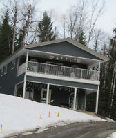 2b yr old home with view of Bouchie lake with extra lot-LOOP RD